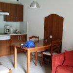 l'espace cuisine salon individuel