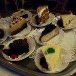 Dessert tray!