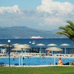 View from Corfu Sea Gardens