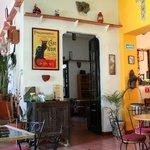 Gato Negro Cafe interior