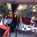 The Cabana with some of our friends