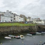 Portrush, N. Ireland harbor