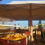 Colazione in Terrazza Panoramica - Breakfast over looking Historical center!