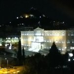 Parliament Bldg. w/Lycabettus to rear