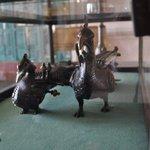 artifacts displayed throughout hotel