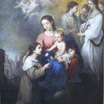 ムリーリョ,聖母子とパレルモの聖女ロザリナ