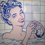 リキテンスタイン,入浴中の女