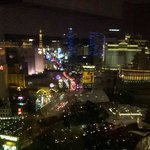 View from the 35th floor at night