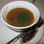 Eine Ratatouille Suppe - herrlich neu und überraschend fein...