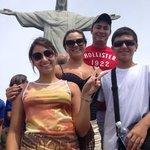 Família no Cristo Redentor