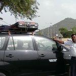 Notre chauffeur Naru SKEHAWAT