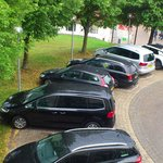 Parking lot Ramada Aalen hotel