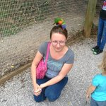 This bird really liked my hair!