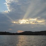 Another beautiful sunset on Tablerock Lake