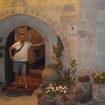 otel girişi ve ben:)