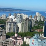 View of English Bay from the 30th floor