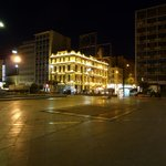 Omonoia Square at 9:25 PM
