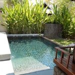 our private pool in the pool residence