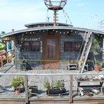 El barco donde vivian los protagonistas de la película