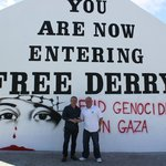 Free Derry wall with Paul D.