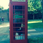 Phone box by the bed rooms