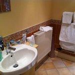 Hand wash area