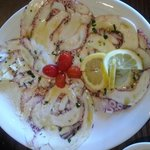 Octopus Carpaccio-Deliciousness!!
