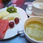 朝食の珈琲他