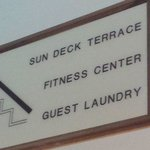 Laundry and Fitness Room!