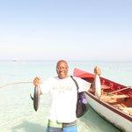 Deep sea fishing with Zaifi was bountiful