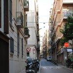Calle San Agustin-barrio de Gracia