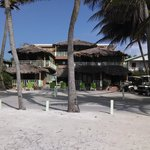 Caye Casa from the dock