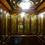 Beautiful old elevator