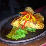 Sizzling Fish Dish at Silk