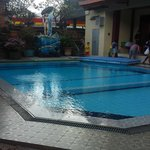 Front pool - located just near the entrance