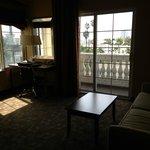 Room 326, office with balcony & sofa sleeper