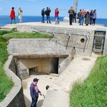 Entrance to main bunker.