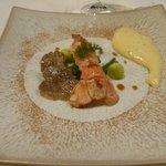 Langouste et truffe blanche : plat réussi