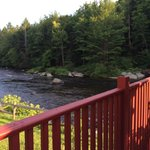 River view from the porch