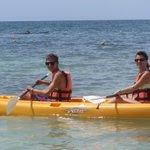 Kayaking - great time.