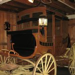 Country Life Exhibit Room: The 1850 Stage Coach