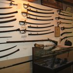 The Weapons Room: Swords and Sabers from the 18th Century to the Civil War