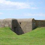 German bunker at Longues-sur-Mer