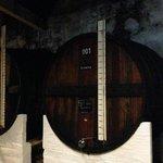 the barrels used for blending