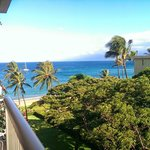 Beach view from our 6th floor lanai