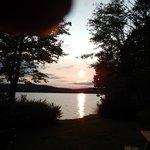 Sunset at Beech cabin