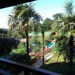 hotel esturion iguazu vista desde el lobby