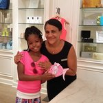 """""""Maria"""" in the Eau Palm Resort & Spa Gift Shop was the sweetest!"""