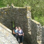 On the battlements