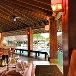 "Resort restaurant called ""Patios"""